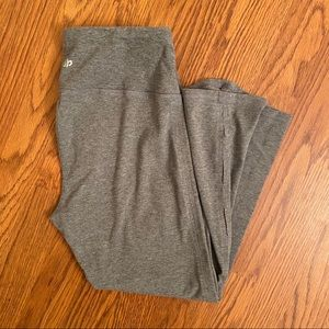Maurices InMotion Heather Gray Workout Crop Pants